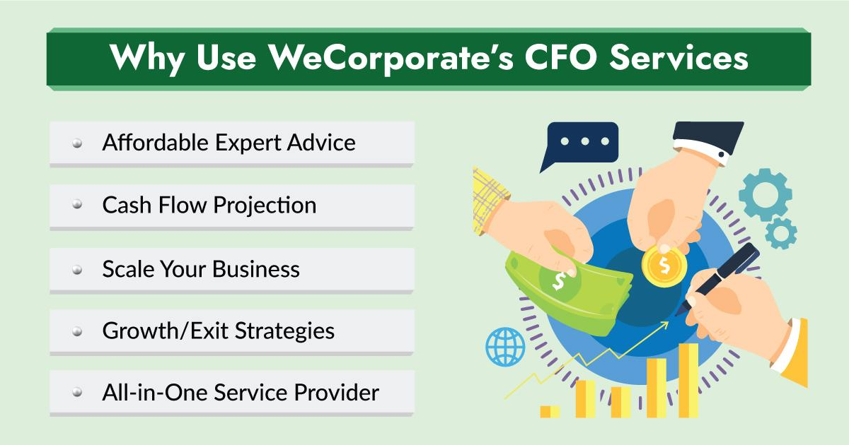 10 Reasons To Use WeCorporate's Outsourced CFO Services