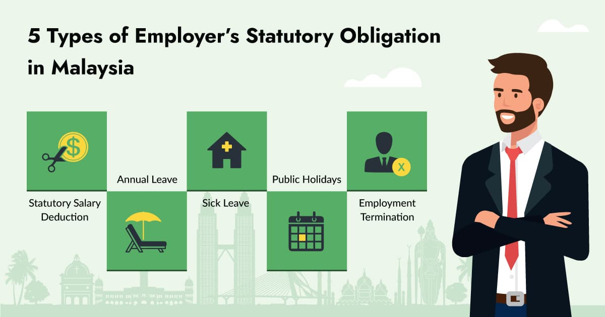 5 Types of Employer's Statutory Obligation in Malaysia