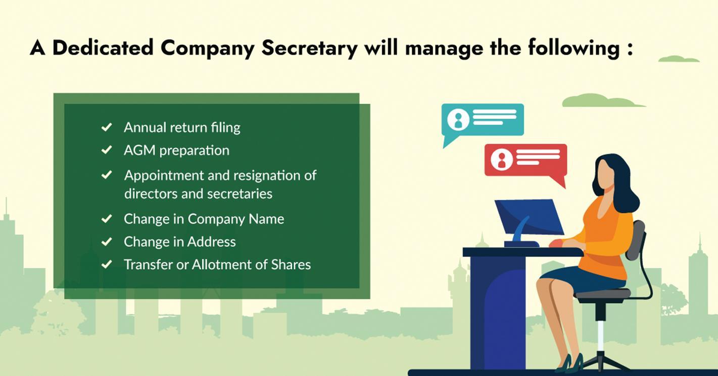 Dedicated Company Secretary in Malaysia
