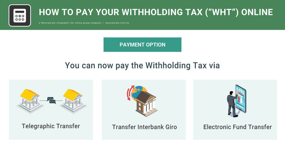 """How to pay your Withholding Tax (""""WHT"""") in Malaysia online"""