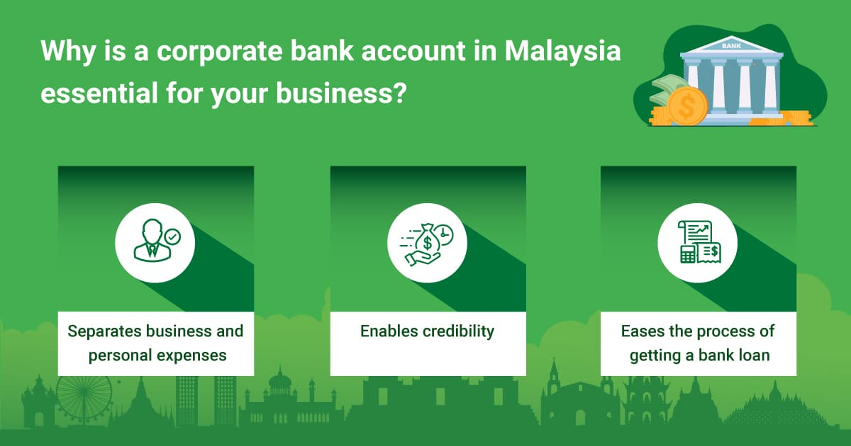 Why is a corporate bank account in Malaysia essential for your business?